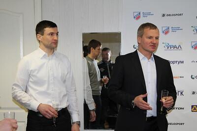 Владимир Кречин и Евгений Цыбук