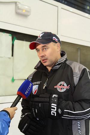 Челмет (Челябинск). Первая тренировка на льду. 15 июля 2013