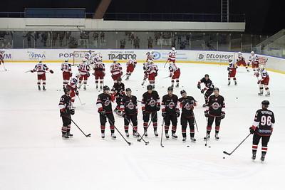 Челябинская команда Высшей хоккейной лиги Челмет уступила в Ижевске местной Ижстали с минимальным счётом 1:2.