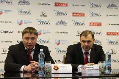 Главный тренер челябинского Челмета Евгений Галкин и главный тренер пермского Молота-Прикамье Александр Гулявцев прокомментировали матч, в котором пермская команда выиграла со счетом 3:1