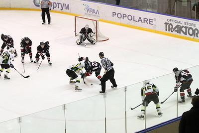 Челябинская команда Высшей хоккейной лиги Челмет обыграла Титан из Клина со счетом 4:1