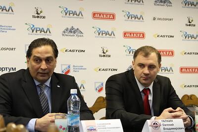 Главный тренер челябинского Челмета Евгений Галкин и главный тренер нефтекамского Тороса Руслан Сулейманов прокомментировали матч, в котором Торос выиграл со счетом 2:1.