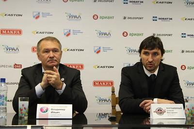Главный тренер челябинского Челмета Алексей Тертышный и главный тренер краснодарской Кубани Владимир Колпаков прокомментировали матч, в котором Челмет выиграл со счётом 5:2.