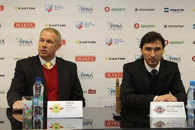 Главный тренер челябинского Челмета Алексей Тертышный и главный тренер хоккейного клуба Липецк Андрей Лунёв прокомментировали матч, в котором команда из Липецка выиграла в овертайме со счётом 3:2.