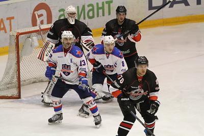 Челябинская команда Высшей хоккейной лиги Челмет выиграла у себя дома со счётом 4:0 у СКА-Карелии.