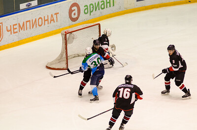 Челмет (Челябинск) - Торос (Нефтекамск) 3:2. 11 января 2015