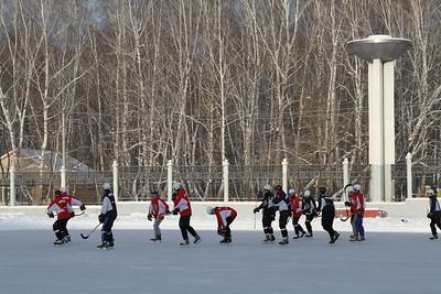 Челмет (Челябинск). Хоккей с мячом. 29 декабря 2015