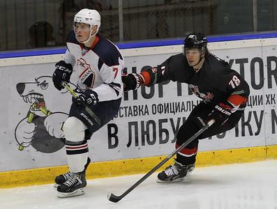 Челмет (Челябинск) - Кристалл (Саратов) 3:2. 4 октября 2015