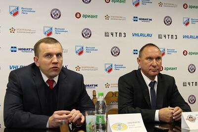 Главный тренер Челмета Александр Рожков и главный тренер Дизеля Андрей Никишов прокомментировали игру, в которой Челмет выиграл со счётом 6:0.