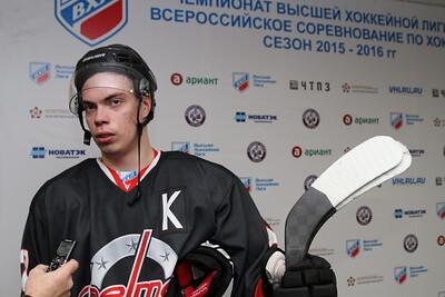 Капитан челябинской команды Высшей хоккейной лиги Челмет Александр Шаров прокомментировал игру, в которой Челмет выиграл со счётом 6:2 у воскресенского Химика.