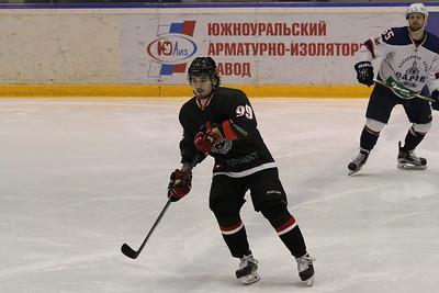 Челмет (Челябинск) - ХК Саров (Саров) 3:0. 17 февраля 2016