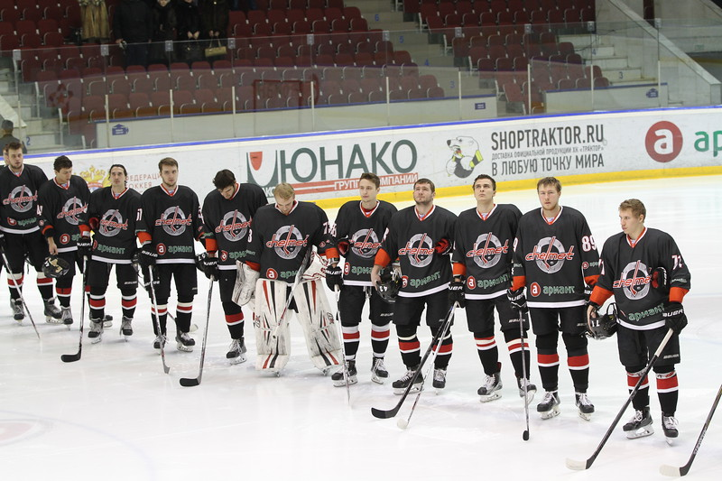 Челябинская команда Высшей хоккейной лиги Челмет проиграла в Орске местному Южному Уралу со счётом 1:4.