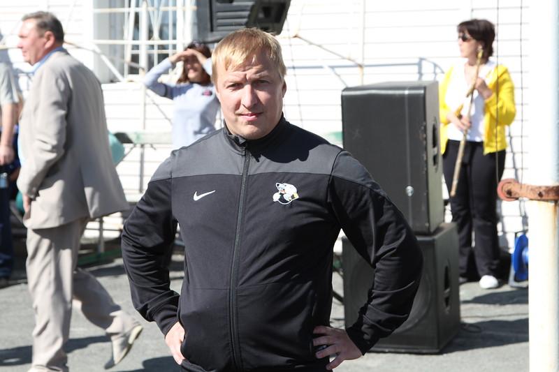 Капитан челябинской команды Высшей хоккейной лиги Челмет Алексей Заварухин принял участие в Дне физкультурника, который прошёл на стадионе Горняк в городе Коркино в Челябинской области.