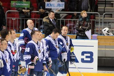"""Газпром-Экспорт - Ветераны """"Трактора"""" 8:4. 12 марта 2012"""