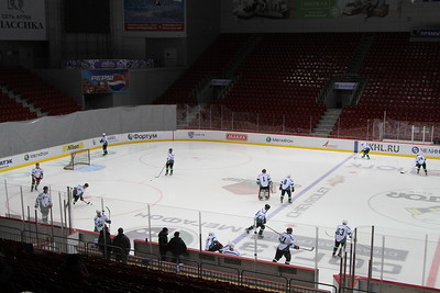 Центурион (Челябинск) - Лафарж (Челябинск) 1:2. 28 января 2013