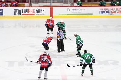 Центурион (Челябинск) - Лафарж (Челябинск) 2:0. 18 марта 2013