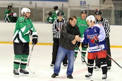 Lafarge (Челябинск) - Трактор-Челси (Челябинск) 4:3. 24 октября 2012
