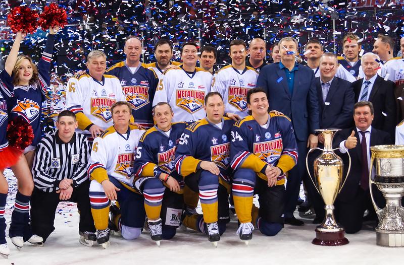 В минувшие выходные в Магнитогорске отметили 60-летний юбилей хоккейного клуба Металлург.
