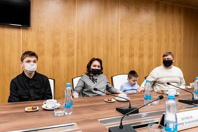 21.01.2021 - Вручение подарка министром спорта РТ в рамках акции Мечтай со мной (Фото Салават Камалетдинов )
