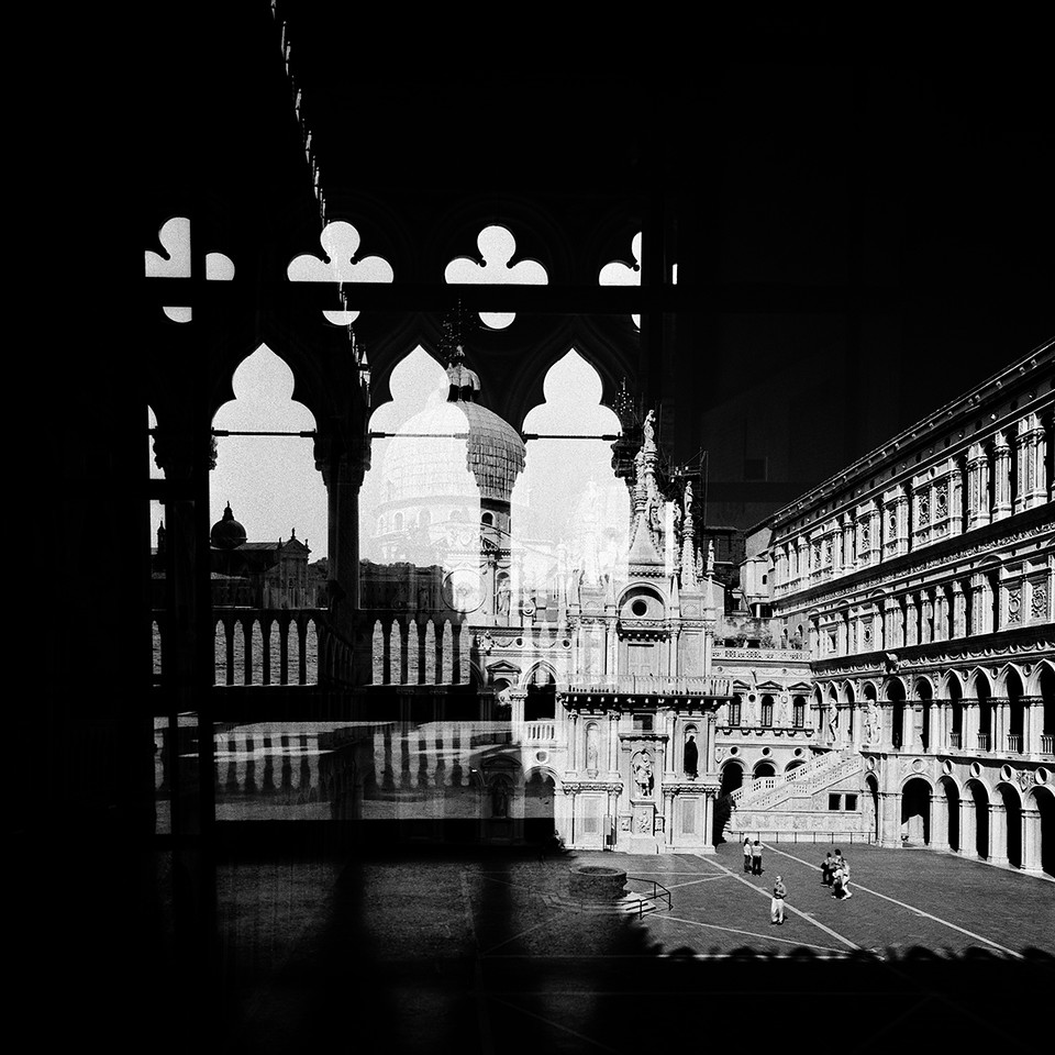 Вид на Палаццо Дукале из четвертого измерения