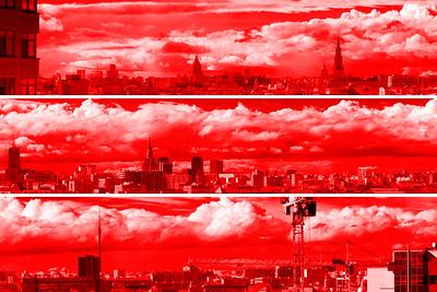Красная 150 миллиметровая панорама // Red 150 mm panorama