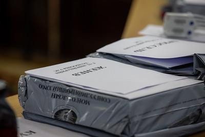 2021 оны зургадугаар сарын 9. Гадаадын улс оронд сугаа иргэдийн саналыг тоолж байна. ГЭРЭЛ ЗУРГИЙГ Б.БЯМБА-ОЧИР/MPA