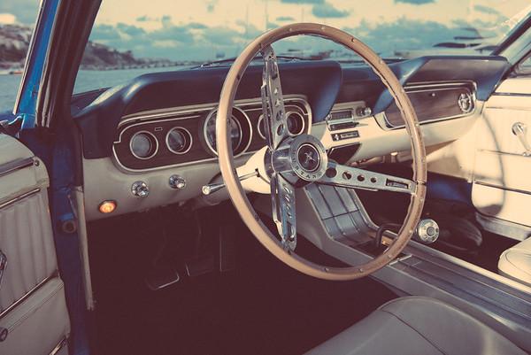 форд мустанг интериор