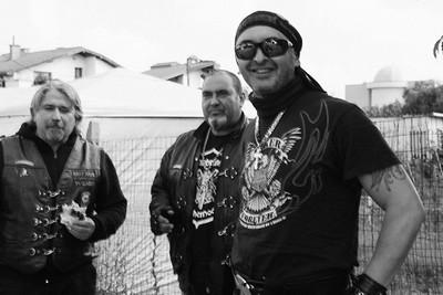 снимка на група рокери