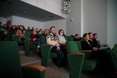 20.03.2021 - Показ документального фильма И.Саетова Генетически не так и его обсуждение с автором (Фото Салават Камалетдинов )
