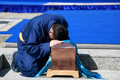 2020 дөрөвдүгээр сарын 02. Чингис хаан музейн шав тавих ёслол боллоо. ГЭРЭЛ ЗУРГИЙГ Г.ӨНӨБОЛД/МРА