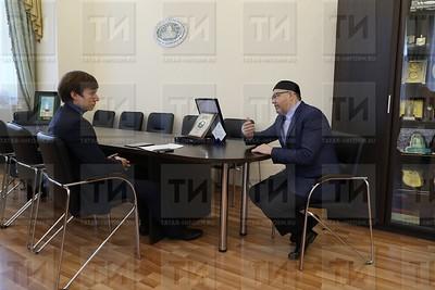 Рәфыйк Мөхәммәтшин, Рафик Мухаметшин, ректор РИИ