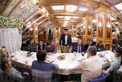 16.02.2018  - Бизнес завтрак с шариатским судьей Казани Габдуллой Адыгамовым (фото Салават Камалетдинов)