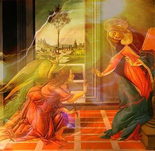 Sandro Boticelli Annunciation