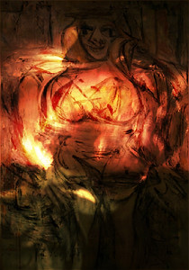 """Willem de Kooning """"Woman III"""""""