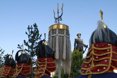 2019 оны есдүгээр сарын 03. Ж.Лхагвасүрэн жанжны хөшөөнд цэцэг өргөлөө. ГЭРЭЛ ЗУРГИЙГ Г.БАЗАРРАГЧАА /MPA