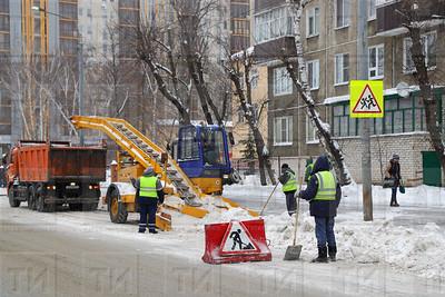 22.12.2017  - Пресс - тур посвященный вопросам зимнего содержания улично-дорожной сети (фото Салават Камалетдинов)