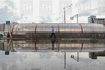 23 июня 2015 - Казань затопило (фото: Ильнар Тухбатов/ИА Татар-Информ)
