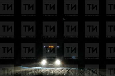 26.12.2018 - Метель и Пробка на трассе в Татарстане (фото Салават Камалетдинов)