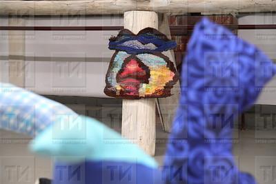 17.10.17 Открытие  выставки Евгении Ножкиной Пряд/тки  (фото: Михаил Захаров / ИА Татар-Информ )