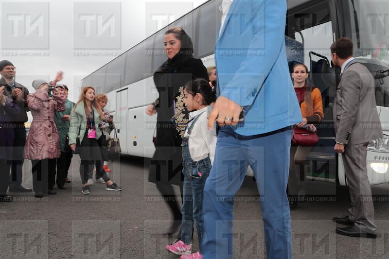 06.09.2017 Звездная дорожка XIII Казанского международного фестиваля мусульманского кино фото Рамиля Гали