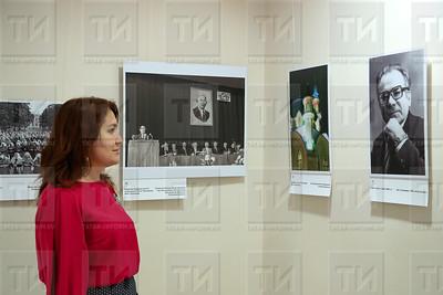 12.11.2018 -  Открытие выставки «Эпоха А.М. Гилязова татары и Татарстан» (фото Салават Камалетдинов)