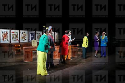14.12.2017  -Спектакль Буинского театра Погоня за дураком (фото Салават Камалетдинов)