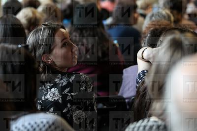 РОССИЯ. КАЗАНЬ. 08.06.2018 - Встреча с Гузель Яхиной - Тухбатов  (фото: Ильнар Тухбатов/ ИА Татар-Информ)