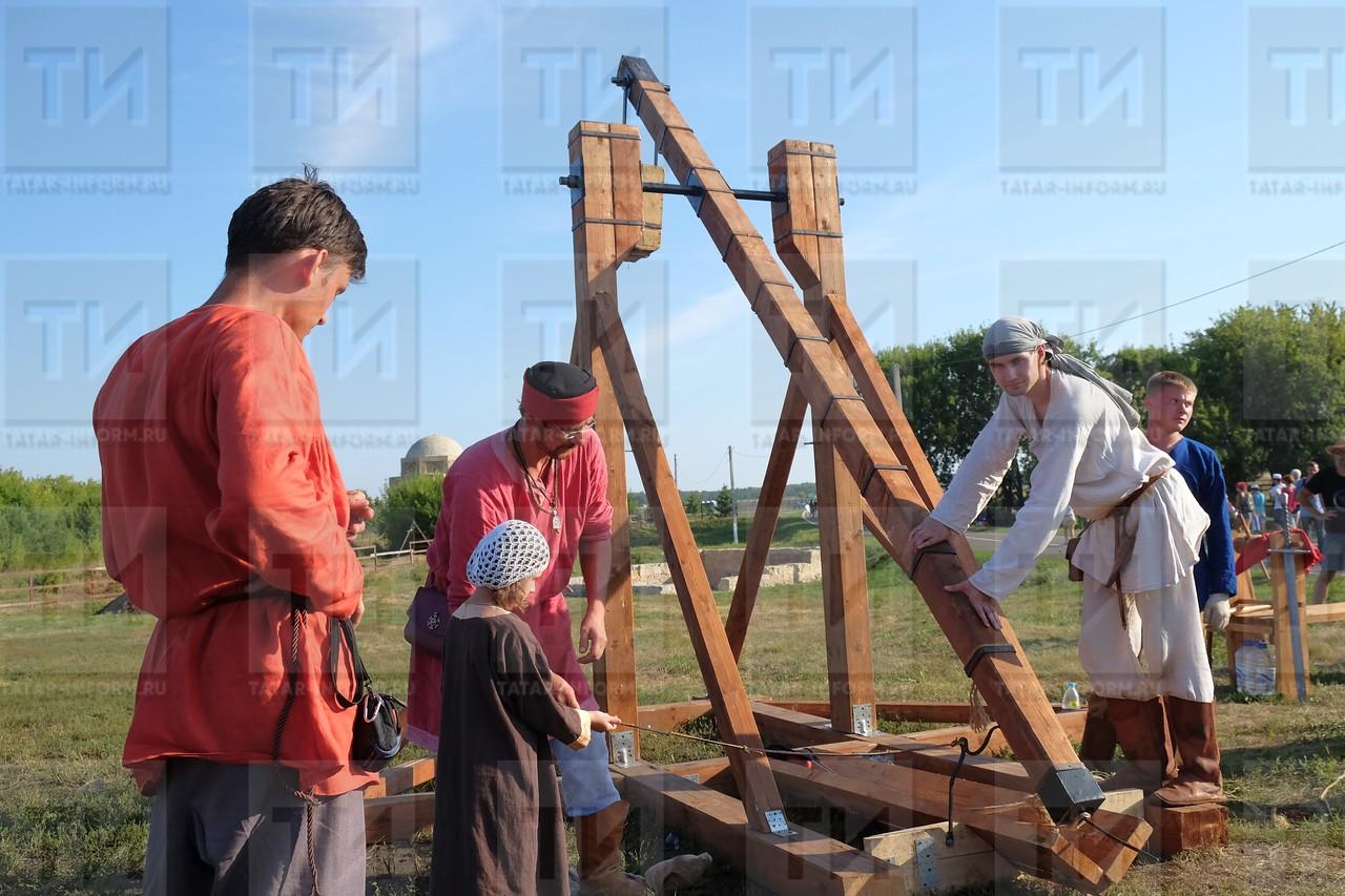 13.08.2016 - Реконструкторы в Болгаре