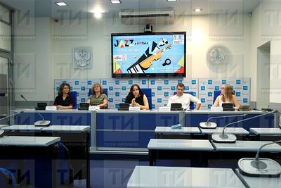 17.07.2018 - П/к посвященная XII Международному фестивалю импровизационной музыки «JAZZ в Кремле» (фото Салават Камалетдинов)