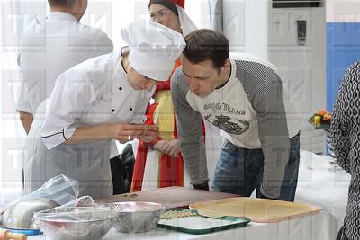 татар ашлары, чәкчәк; татарские блюда; чак-чак