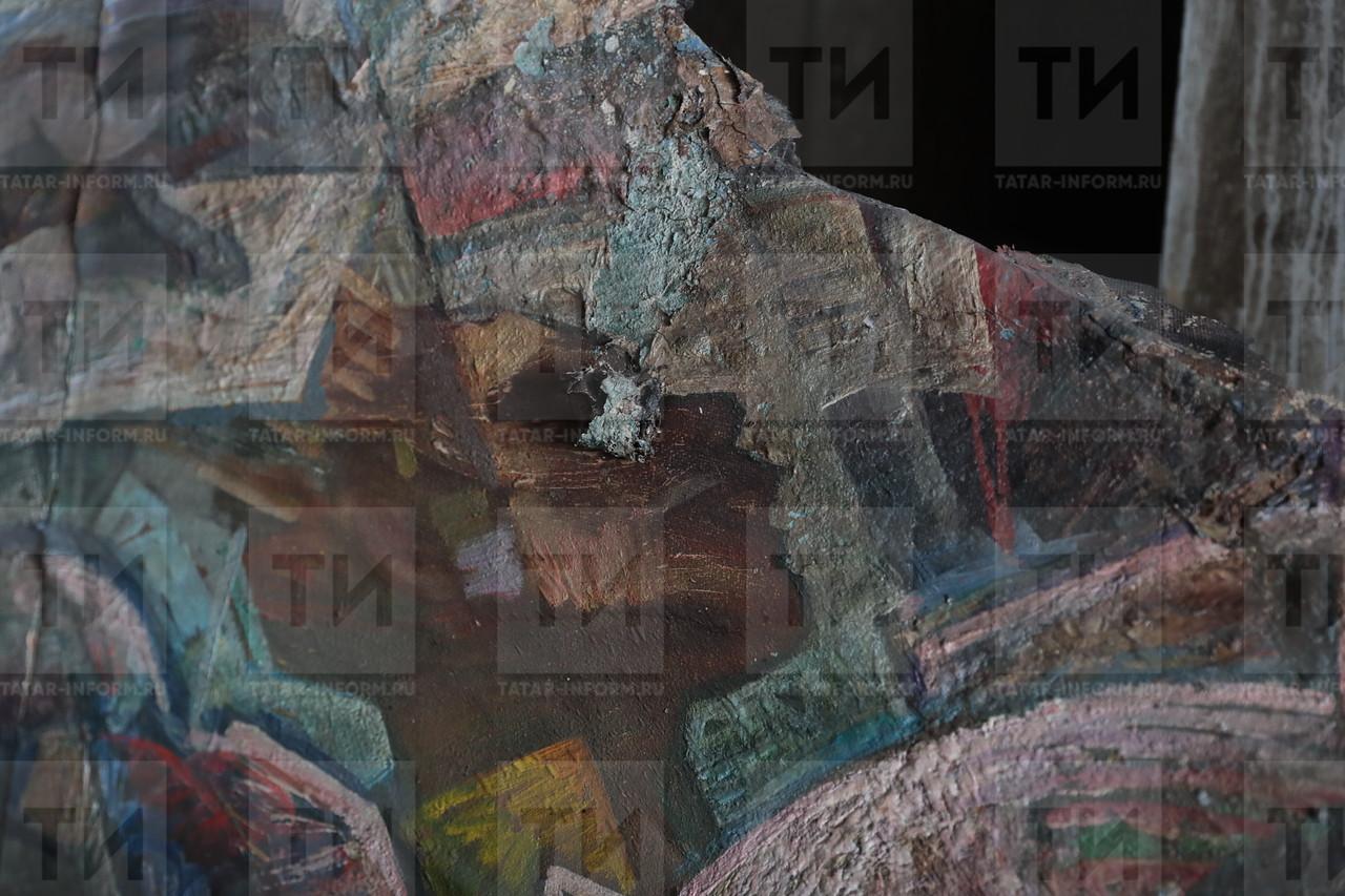 31.07.2017 Восстановление Храма всех религий фото Рамиля Гали