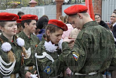 07.05.2017-Чтение солдатских писем в Казанской ратуше (Фото: Александр Эшкинин/ИА Татар-информ)