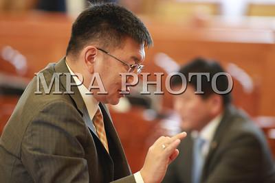 2016 оны Арваннэгдүгээр сарын 17.  УИХ-ын чуулганаар гадаад оронд Монгол Улсаа төлөөлөн суух Элчин сайдуудыг томилох тухай хэлэлцэж байна.                                           ГЭРЭЛ ЗУРГИЙГ Б.БЯМБА-ОЧИР/MPA
