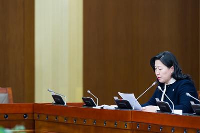 2019 оны аравдугаар сарын 22.  Нийгмийн бодлого, боловсрол, соёл, шинжлэх ухааны байнгын хорооны хуралдаанаар Нийгмийн даатгалын үндэсний зөвлөлийн болон Эрүүл мэндийн даатгалын үндэсний зөвлөлийн 2018 оны тайланг Байнгын хороо хуралдааны хэлэлцүүлэгт бэлтгэх, санал, дүгнэлт, шийдвэрийн төсөл боловсруулах үүрэг бүхий ажлын хэсгийн тайланг хэлэлцэв.    ГЭРЭЛ ЗУРГИЙГ Б.БЯМБА-ОЧИР/MPA
